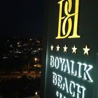 7/25/2013 tarihinde Fatih E.ziyaretçi tarafından Boyalık Beach Hotel & SPA'de çekilen fotoğraf