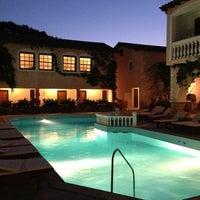 Photo taken at Ino Village Hotel Samos by Emrah G. on 8/31/2013