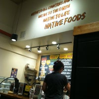 Photo taken at Native Foods by Lady G. on 5/9/2013