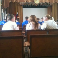 Photo taken at Медицинский колледж № 5 by Александра А. on 4/29/2013