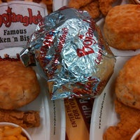 Photo taken at Bojangles' Famous Chicken 'n Biscuits by Stan S. on 4/14/2013