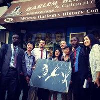 Photo taken at Harlem Heritage Tours (Harlem Heritage and Cultural Center) by Dontyna L. on 8/29/2013