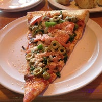 Photo taken at Bassano's Pizzeria by Michelle on 10/27/2013