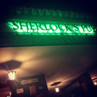 Photo taken at Sherlock's Pub by Bruna B. on 9/30/2012