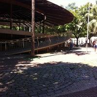 Photo taken at Praça João Pinheiro by Bernardo B. on 4/18/2013