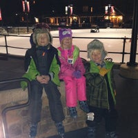 Photo taken at Dercum Square Ice Rink by Jennifer H. on 12/1/2013