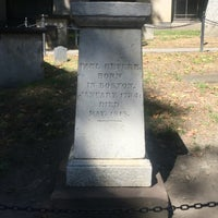 Photo taken at Paul Revere's Tomb by Donna K. on 9/12/2016