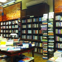 Photo taken at Diwan Bookstore by Magda E. on 12/31/2012