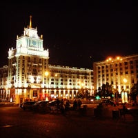 Снимок сделан в Триумфальная площадь пользователем Sasha M. 6/10/2013
