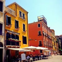 Photo taken at Campo San Stefano by Sasha M. on 7/26/2013