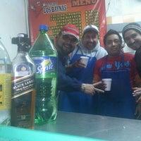 Photo taken at Tacos El Guero Baynas by Roberto Andrés A. on 12/31/2012