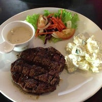 Photo taken at Ayers Rock Butcher & Grill by Ayu Z. on 6/15/2013