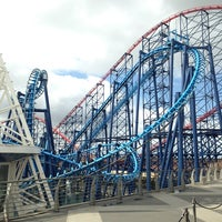 Photo taken at Blackpool Pleasure Beach by Joe H. on 6/24/2013