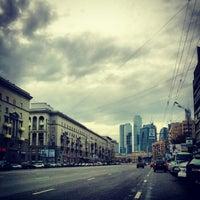 Photo taken at Большая Дорогомиловская улица by Стас Т. on 9/22/2012