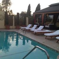 Photo taken at Le Parc Suite Hotel by Julia M. on 3/27/2013