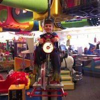 Photo taken at Chuck E. Cheese's by Kimberly J. on 3/9/2013
