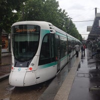 Photo taken at Station Porte de Versailles [T2,T3a] by Olivier Q. on 6/13/2013