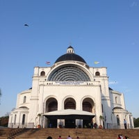 Photo taken at Santuario de la Virgen de Caacupé by Alejandro Jr C. on 9/21/2013