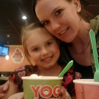 Photo taken at Yogo Factory by *AmAnDa* on 2/15/2013