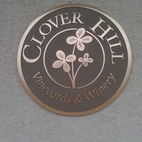 Photo taken at Clover Hill Winery by Dominic D. on 2/23/2013