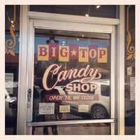 Photo taken at Big Top Candy Shop by Tony E. on 3/12/2013