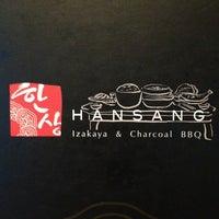 Photo taken at Han Sang Korean Charcoal BBQ by Wong K. on 1/12/2013