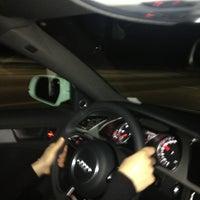 Photo taken at Murat's Audi by Murat K. on 3/2/2013