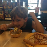 Photo taken at Cicis by Allison G. on 7/21/2014