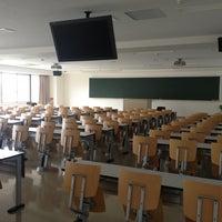 Photo taken at 大阪工業大学 大宮学舎 by Satoshi S. on 6/1/2013