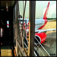 Photo taken at airberlin Flight AB 6510 by Null E. on 6/19/2013