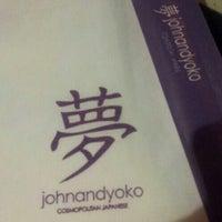 Photo taken at John and Yoko Cosmopolitan Japanese by Jobs P. on 1/25/2013