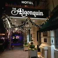 Photo taken at The Algonquin Hotel Times Square, Autograph Collection by Shinya S. on 12/6/2012