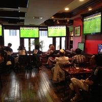 Photo taken at Playwright Irish Pub by Shinya S. on 6/19/2013