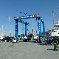 Photo prise au Marmaris Yacht Marina par Bahattin D. le4/30/2013