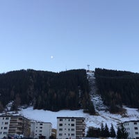 Photo taken at Grischa - DAS Hotel Davos by Kitti on 12/20/2015