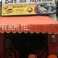 Photo taken at Bar do Marcio by Thaís R. on 1/15/2013