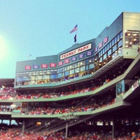 Photo taken at Fenway Park by Karen C. on 7/4/2013