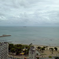 Photo taken at Spazzio Hotel Residence Fortaleza by Airton C. on 7/24/2013