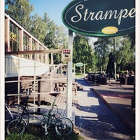 Photo taken at Strampen Restaurant & Terrace by Miku P. on 7/3/2014