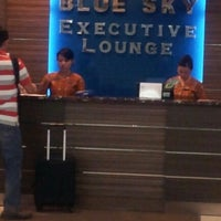 Photo taken at Blue Sky Executive Lounge by Anggara M. on 1/6/2013