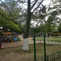 Photo taken at Parque Hobo by Juan Camilo V. on 7/13/2013