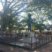 Photo taken at Parque Hobo by Juan Camilo V. on 1/1/2014
