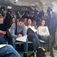 Photo taken at Maidan Press Center by Dmitry R. on 1/21/2015