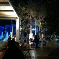 Photo taken at Mio Bianco Beach Club by Özkaya Y. on 7/13/2015