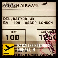 Photo taken at BA Galleries Lounge by Dafydd D. on 9/8/2013