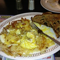 Photo taken at Waffle House by Amber D. on 1/26/2013