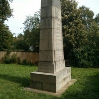 Photo taken at Amersham Martyrs Monument by Tim H. on 9/1/2013