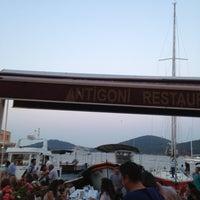 Photo taken at Antigoni Restaurant by Deniz S. on 7/13/2013