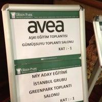 Das Foto wurde bei The Green Park Taksim Hotel von Hedef İletişim Avea Dağıtım Merkezi E. am 4/8/2013 aufgenommen