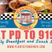 Photo taken at Plantation Diner by Ken B. on 2/25/2015